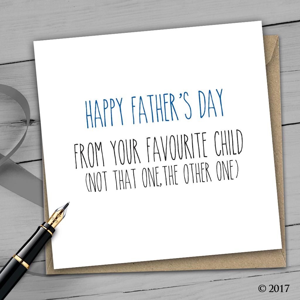 Rude Fathers Day Card F6 - Print Buzz   Wedding Invitations